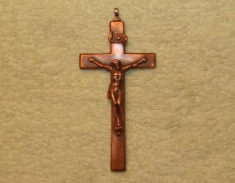 Крест (гальванопластика) 46х98 мм. Арт.: ИМ-46-04
